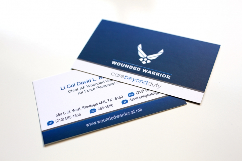 Air Force Business Cards | Arts - Arts